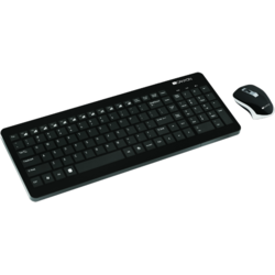 CANYON Kit Tastatura + Mouse 2.4GHZ wireless combo-set, 105 keys