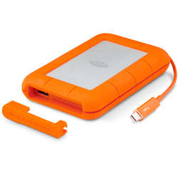 LaCie HDD Extern Rugged V2 2.5'' 2TB USB3 Thunderbolt, IP54 rated resistance