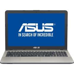 Laptop ASUS 15.6'' A541UJ, FHD, Intel Core i5-6200U, 4GB, 1TB, GeForce 920M 2GB, Endless OS, Chocolate Black