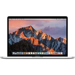 Laptop Apple MacBook Pro 15, ecran Retina, Touch Bar,  Intel Quad Core i7 2.6GHz, 16GB RAM, 256GB SSD, Radeon Pro 450 2GB, macOS Sierra, Silver, ROM KB