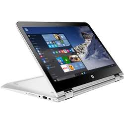 Laptop 2 in 1 HP Pavilion x360 13-u103nq, Intel Core I5-7200U 2.50 GHz, 13.3'', Full HD, IPS, Touchscreen, 4GB, 256GB SSD, Intel HD Graphics 620,  Windows 10 Home, Silver