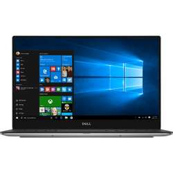 Ultrabook DELL 13.3'' New XPS 13 (9360), QHD+ Touch InfinityEdge, Intel Core i7-7500U , 8GB, 256GB SSD, GMA HD 620, Win 10 Pro, Silver