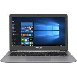 Ultrabook ASUS 13.3'' Zenbook UX310UA, FHD,  Intel Core i3-7100U, 4GB DDR4, 500GB + 128GB SSD, GMA HD 620, Win 10 Home, Grey