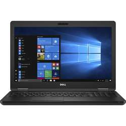 Laptop DELL 15.6'' Latitude 5580 (seria 5000), FHD, Intel Core i5-7300U , 16GB DDR4, 512GB SSD, GMA HD 620, Win 10 Pro