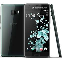 Telefon mobil Single SIM HTC U Ultra, 64GB + 4GB RAM, Brilliant Black
