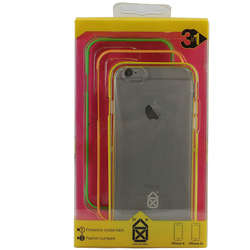CASE SCENARIO Husa Bumper 3 in 1 + Capac Spate Neon Boy Multicolor APPLE iPhone 6S