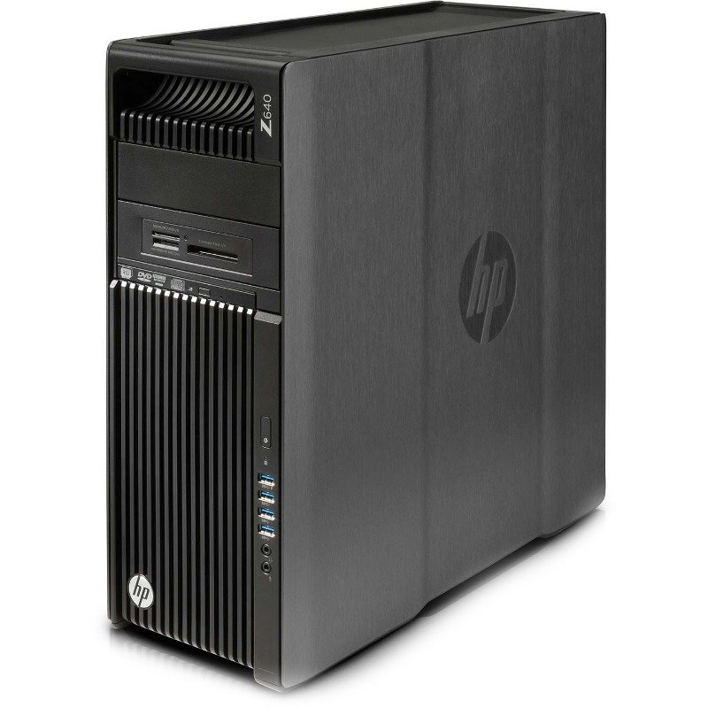 Sistem desktop HP Z640 Workstation, Intel Xeon E5-2620v4, 16GB DDR4, 256GB SSD, 2TB 7200 RPM HDD, DVDRW, Keyboard/ Mouse, Win 10 Pro 64bit