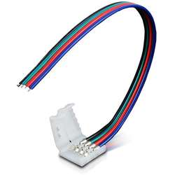 WHITENERGY Conector pt benzi LED RGB (5 buc)