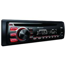 Player auto Pioneer DEH-09BT, 4x50 W, CD, USB, AUX, Control iPod/iPhone, Bluetooth