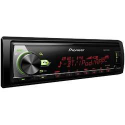 Radio MP3 Player auto Pioneer MVH-X580BT, 4x50 W, USB, AUX, RCA, Control iPod/iPhone, Android, Spotify, Bluetooth (fara CD)