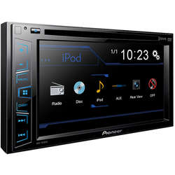 "Multimedia player auto Pioneer AVH-190DVD, 2DIN, 6.2"" Touchscreen, 4x50W, USB, AUX, iPod direct control"