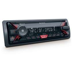 Radio MP3 Player auto Sony DSXA400BT, 4 x 55 W, USB, AUX, Bluetooth, NFC (fara CD)
