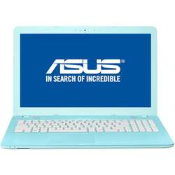Laptop ASUS 15.6'' VivoBook X541UA, Intel Core i3-6006U, 4GB DDR4, 500GB, GMA HD 520, FreeDos, Aqua Blue