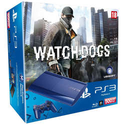 Consola SONY PS3 Slim 500GB + Joc Watch Dogs