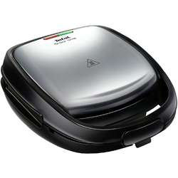 Tefal Sandwich-maker Snack Time 2 in 1 SW341D12, 700 W, placi detasabile, inox