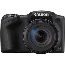Aparat foto digital Canon Powershot SX430 IS, 20MP, Wi-Fi, Negru