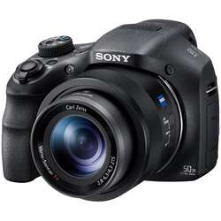 Sony Aparat foto digital Cyber-Shot DSCHX350, 20.4MP, 50x Optical Zoom, Negru
