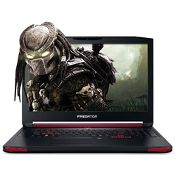 Laptop Acer Gaming 17.3'' Predator G9-793, FHD IPS, Intel Core i7-7700HQ , 16GB DDR4, 1TB 7200 RPM + 256GB SSD, GeForce GTX 1070 8GB, Linux, Black