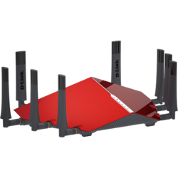 D-Link Router wireless AC5300, MU-MIMO Ultra Wi-Fi