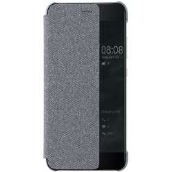 Husa Flip Smart View Cover 51991877 pentru Huawei P10 Plus, Light Grey