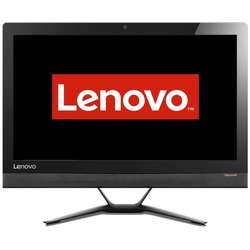 Sistem All-In-One Lenovo 23'' IdeaCentre 300, FHD IPS,  Intel Core i5-6200U 2.3GHz Skylake, 8GB, 1TB, GeForce 920A 2GB, FreeDos, Black
