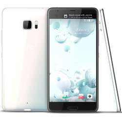 Telefon mobil Single SIM HTC U Ultra, 64GB + 4GB RAM, Ice White