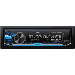 JVC Player auto KD-X341BT, 4x50W, USB, AUX, Bluetooth, Subwoofer control, Blue light