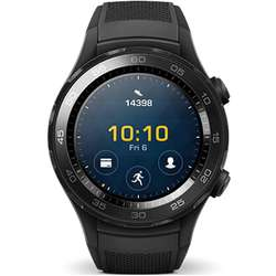 Smartwatch Huawei Watch 2, Bluetooth, Carbon Black Sport Strap