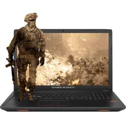 Laptop ASUS Gaming 17.3 ROG GL753VD, FHD, Intel Core i7-7700HQ , 8GB DDR4, 1TB, GeForce GTX 1050 4GB