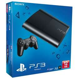 Consola SONY PS3 Super Slim 12GB, Blu-Ray
