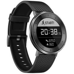 Smartwatch Huawei Fit, Smart Fitness Watch, Titanium Grey-Black Sport Band, Large