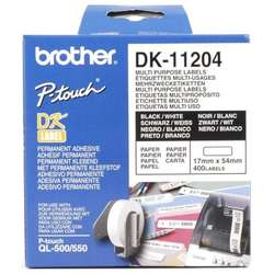 Consumabil Brother DK 11204 Multi purpose labels