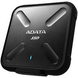 ADATA SSD Extern SD700, 256GB USB3.1, black