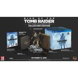 Square Enix Ltd RISE OF THE TOMB RAIDER 20 YEAR CELEBRATION COLLECTORS EDITION - PS4