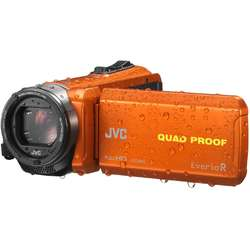 JVC Video Camera Quad-Proof R GZ-R435DEU, Full HD, Orange