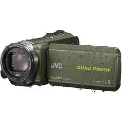 JVC Video Camera Quad-Proof R GZ-R435GEU, Full HD, Green