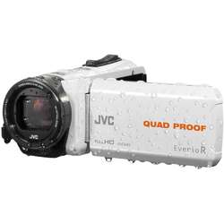 JVC Video Camera Quad-Proof R GZ-R435WEU, Full HD, White