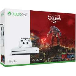 Microsoft Consola Xbox One Slim, 1TB, plus joc Halo Wars 2 Ultimate Edition