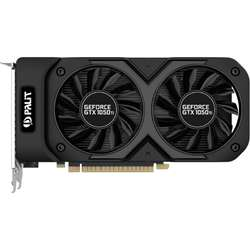 Placa video Palit GeForce GTX 1050 Ti Dual OC 4GB GDDR5 128-bit