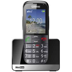 Telefon mobil Single SIM MaxCom Comfort MM721, 3G, Black