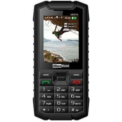 Telefon mobil Dual SIM MAXCOM Strong MM916, 3G, IP67, Black
