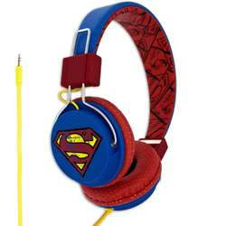Casti audio cu banda Licensed Superman – Vintage Teen