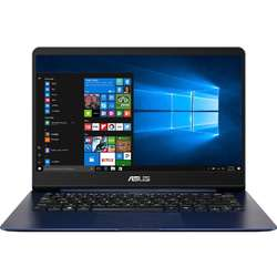 Ultrabook ASUS 14'' BX430UA, FHD, Intel Core i5-7200U, 8GB DDR4, 256GB SSD, GMA HD 620, Win 10 Pro, Blue