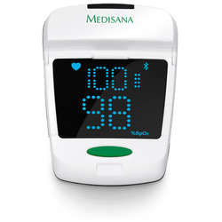 Medisana Puls Oximetru PM 150, Bluetooth smart, Alb