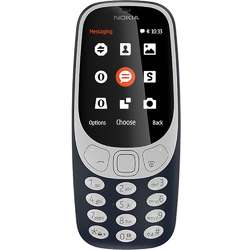 Telefon mobil Single SIM Nokia 3310, Dark Blue