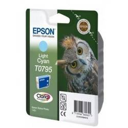 Epson Singlepack Light Cyan T0795 Claria Photographic Ink 11ml