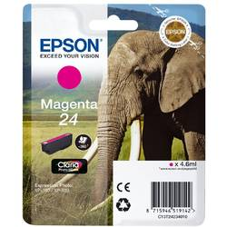 Epson Singlepack Magenta 24 Claria Photo HD Ink 4,6ml