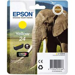 Epson Singlepack Yellow 24 Claria Photo HD Ink 4,6ml