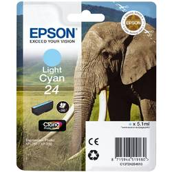 Epson Singlepack Light Cyan 24 Claria Photo HD Ink 5,1ml