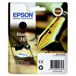 Epson Singlepack Black 16 DURABrite Ultra Ink 5,4ml